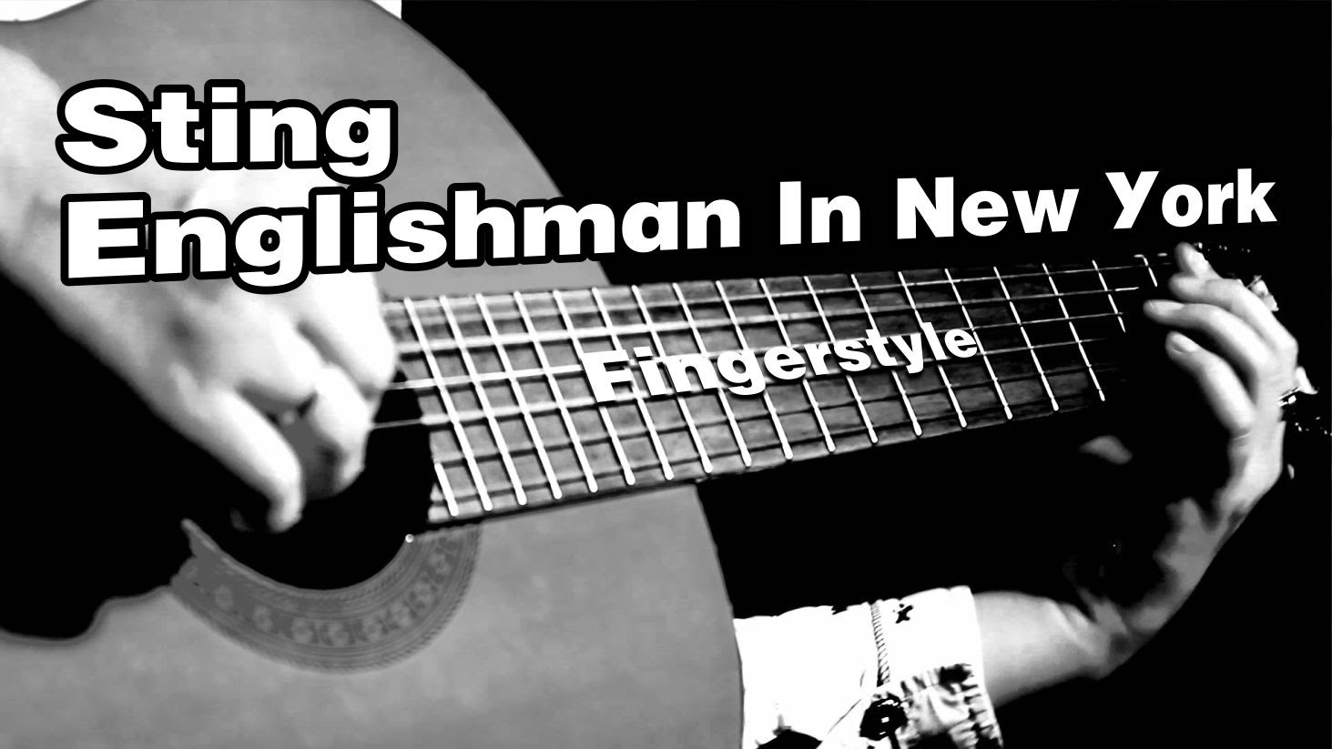 Sting - Englishman In New York На гитаре разбор fingerstyle