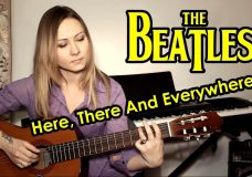 The Beatles - Here, There And Everywhere На гитаре разбор