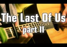 Throught The Valley — Last Of Us part 2 — Acoustic Fingerstyle Guitar (cover)HQ