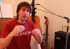Урок гитары. Вводный урок. Сергей Елгазин.