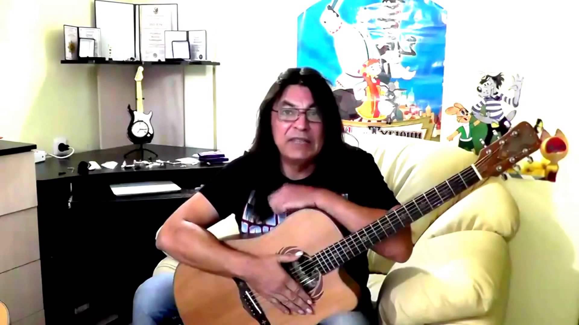Уроки гитары фингерстайл. Урок 3