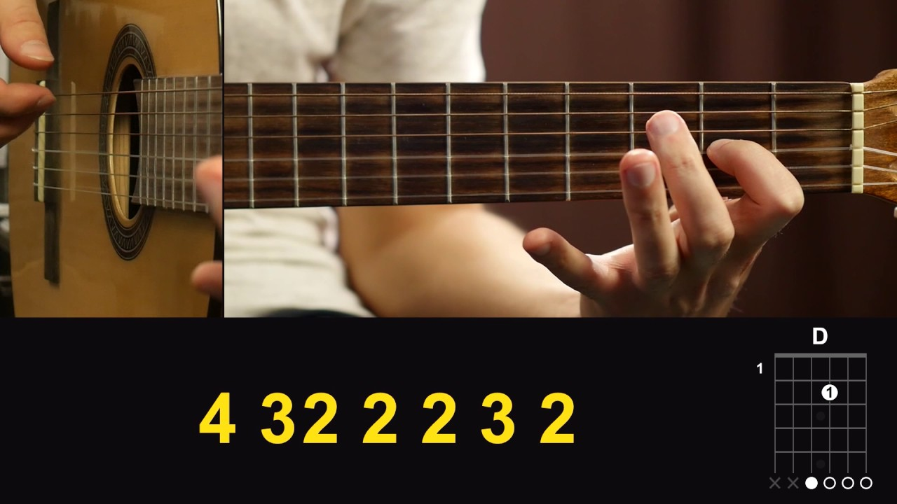 Вступление ЛЮБЭ - ПОЗОВИ МЕНЯ на гитаре Подробный разбор, видео урок