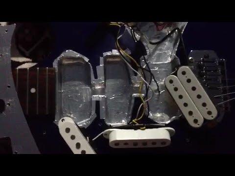 Выпуск 3 Экранирование и полная настройка электрогитары