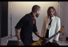 The Making of Brioni with Metallica Campaign Kirk