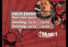 ARCH ENEMY — Angela Gossow iMusic1 special (TRAILER)