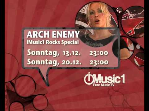 ARCH ENEMY - Angela Gossow iMusic1 special (TRAILER)