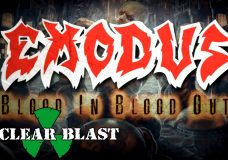EXODUS — Blood In, Blood Out (OFFICIAL LYRIC VIDEO)