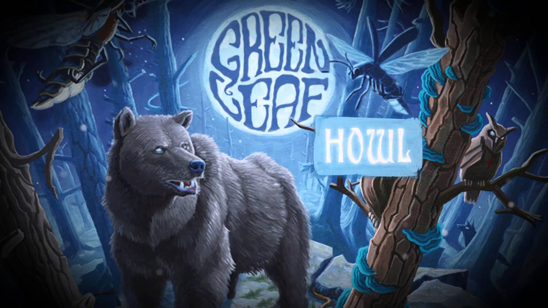 GREENLEAF - Howl (Official Lyric Video) Napalm Records