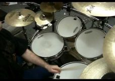 INTO ETERNITY — Steve Bolognese Drum Video (FUNERAL HYMN…)