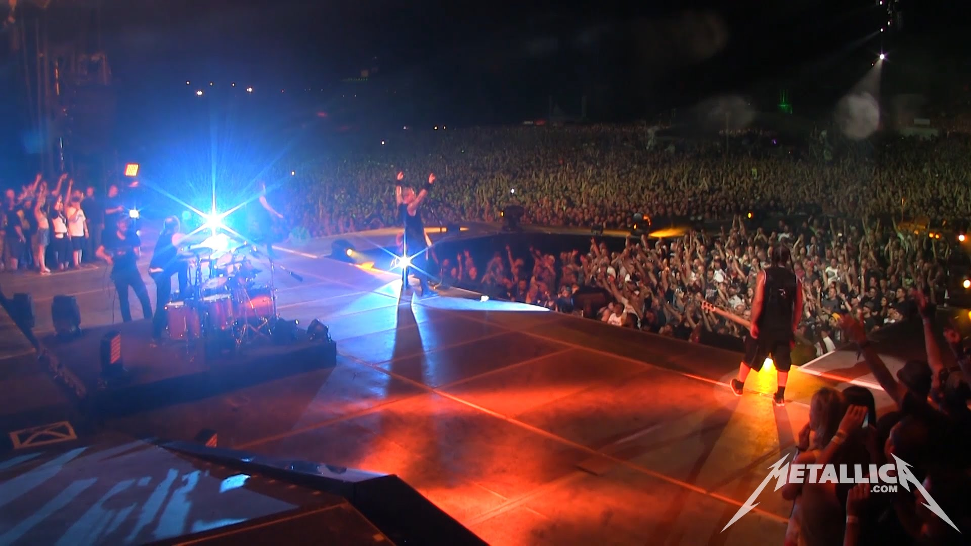 Metallica Battery and The Four Horsemen (MetOnTour - Montreal, Canada - 2014)