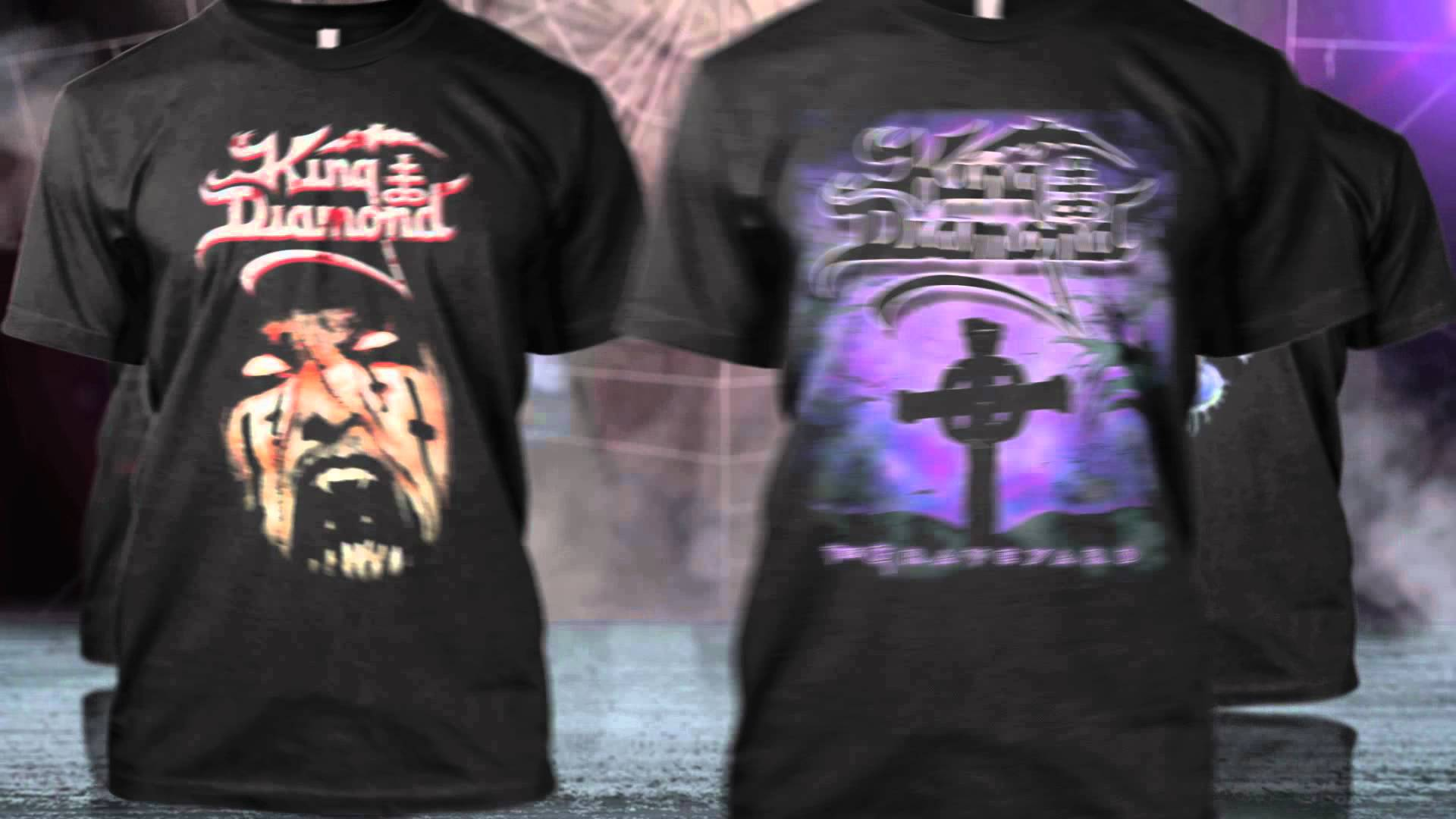 Official King Diamond webstore is now online