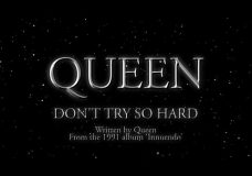 Queen — Don't Try So Hard — (Official Lyric Video)