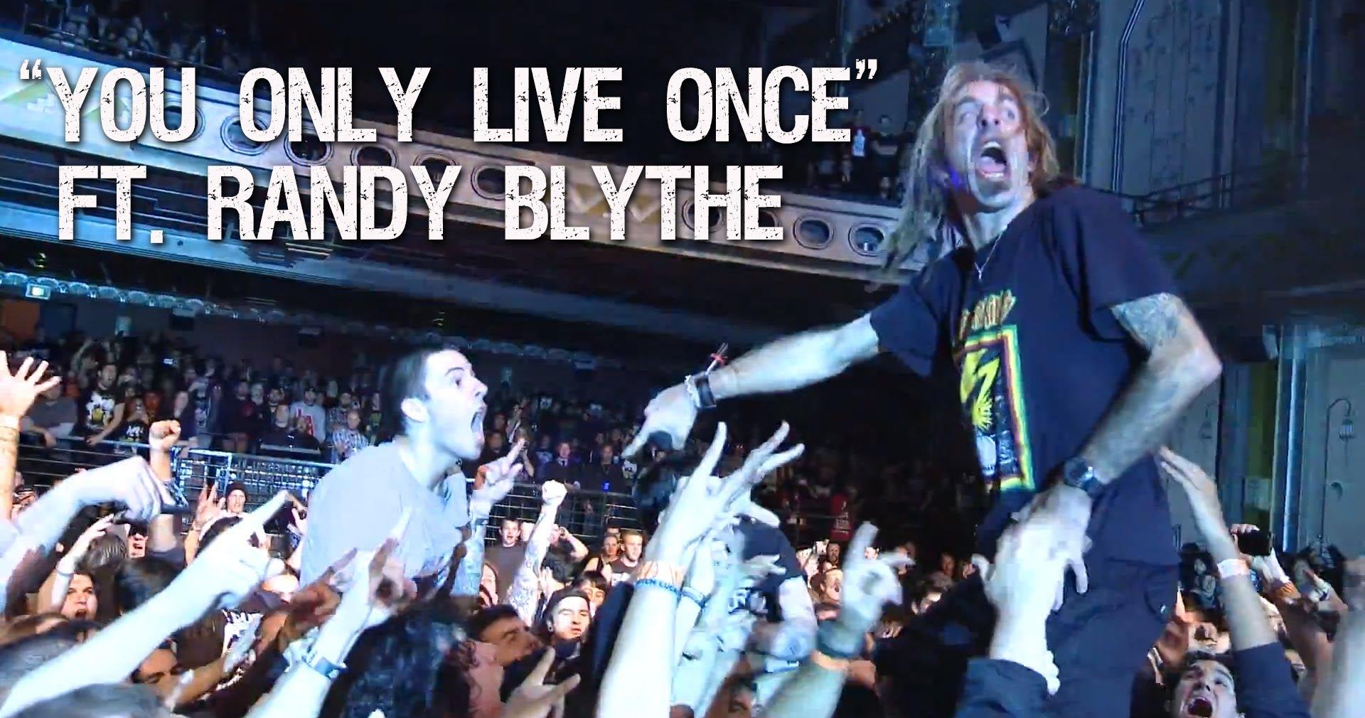 SUICIDE SILENCE - You Only Live Once (Ft. Randy Blythe - Lamb Of God)