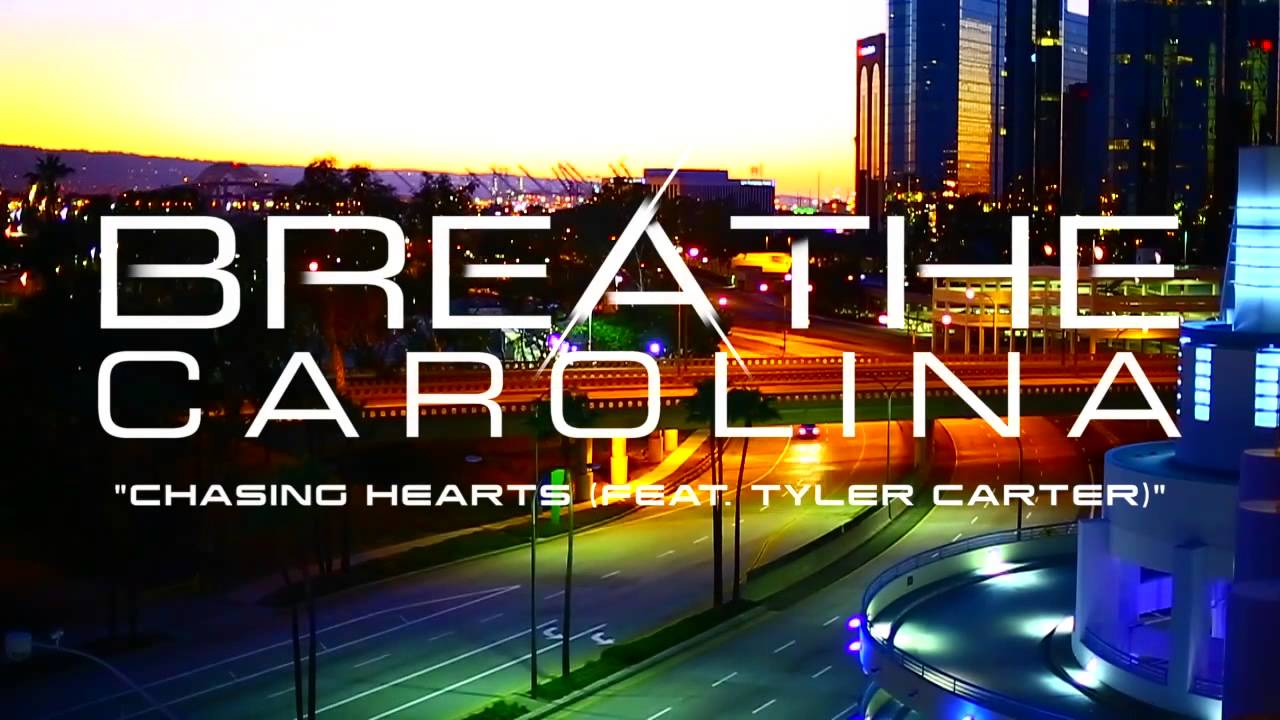 Breathe Carolina - 'Chasing Hearts (Feat. Tyler Carter)' (Stream)