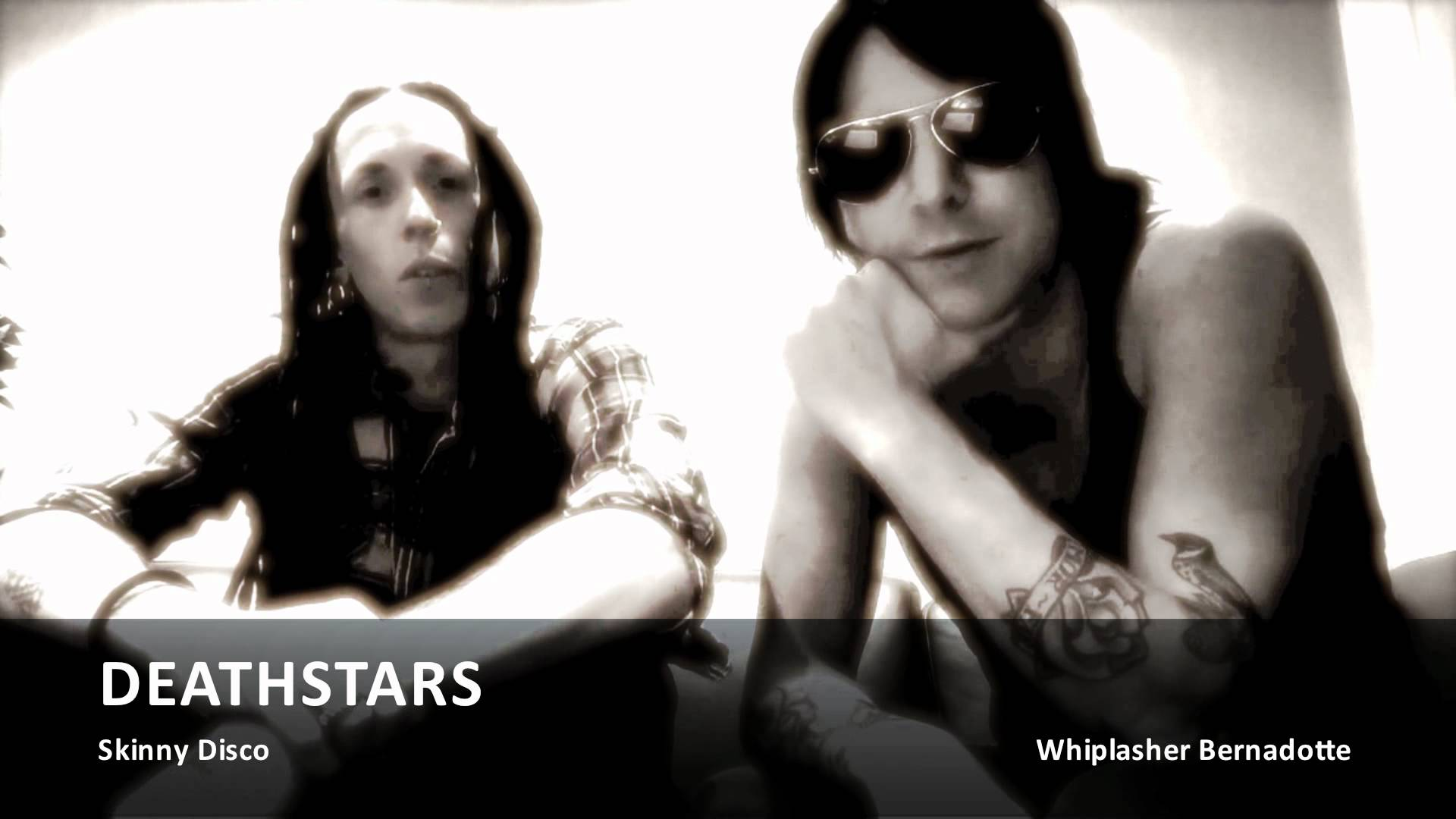 DEATHSTARS release best of album & say hi to their fans (OFFICIAL INTERVIEW)