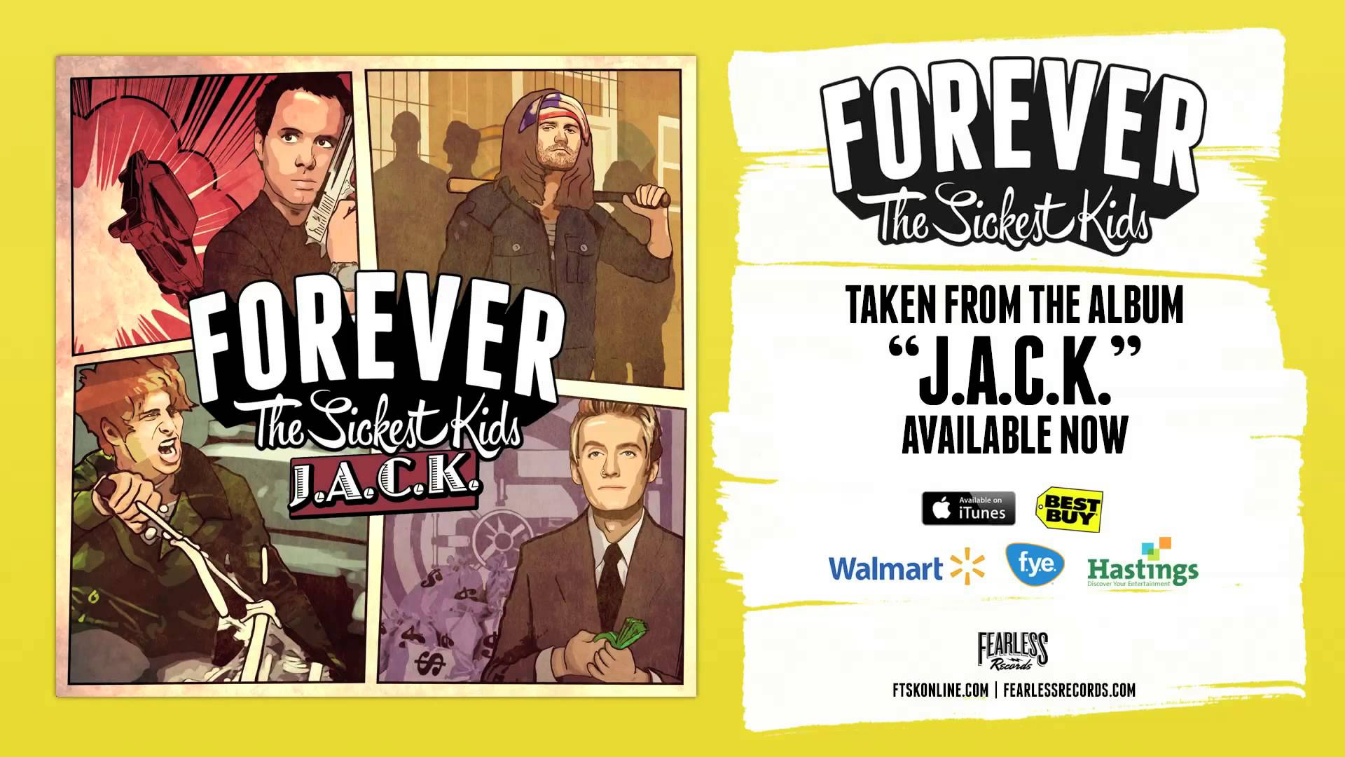 Forever The Sickest Kids - Out Now Album Release