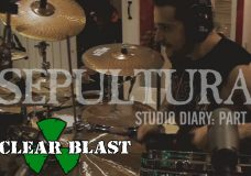 SEPULTURA - Machine Messiah Studio Diary 2 - Drums (OFFICIAL STUDIO TRAILER)