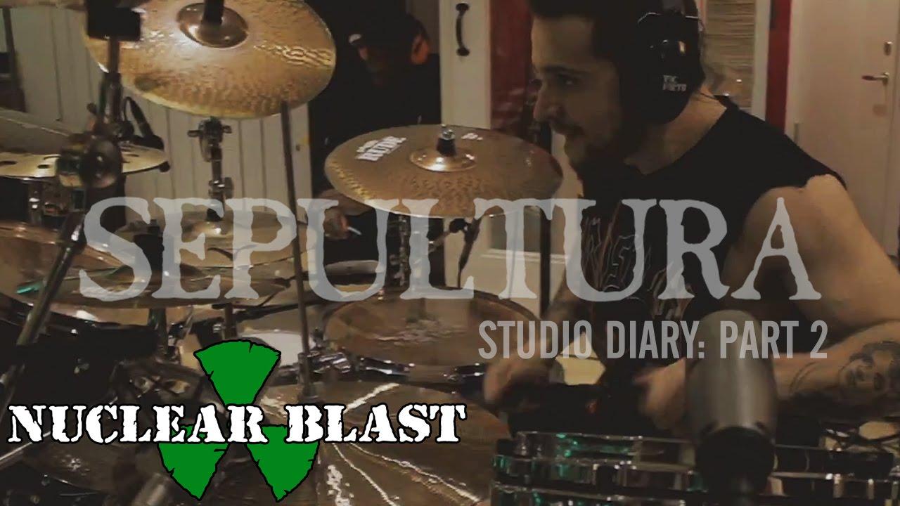 SEPULTURA - Machine Messiah Studio Diary 2 - Drums (OFFICIAL STUDIO TRAILER)