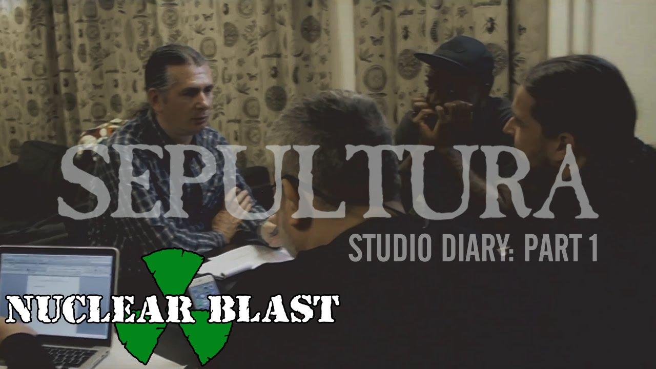 SEPULTURA - Machine Messiah Studio Diary 1 - Nuclear Blast (OFFICIAL STUDIO TRAILER)