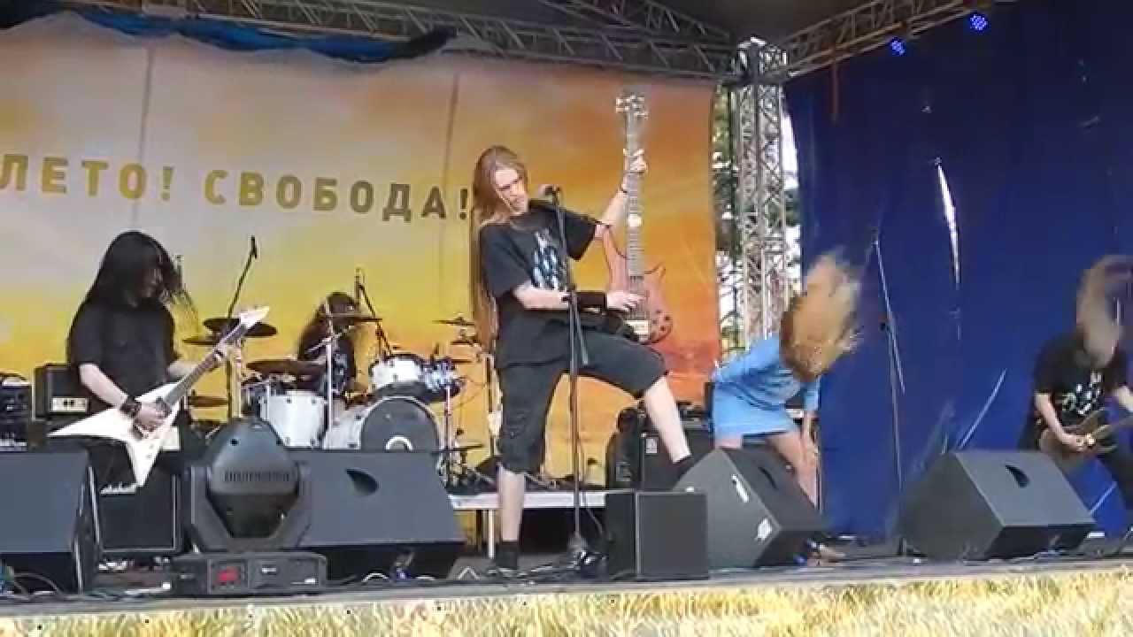 Alkonost 'Ночь Перед Битвой', live at FSF 2015 (Гусь-Хрустальный, Russia), 19-Jul-2015