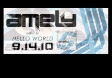 Amely — 'Hello World' (with Lyrics)