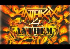 ANTHRAX — Anthem (OFFICIAL RUSH COVER)