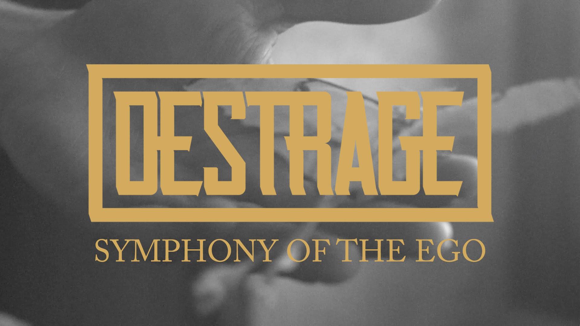 Destrage 'Symphony of the Ego' (LYRIC VIDEO)