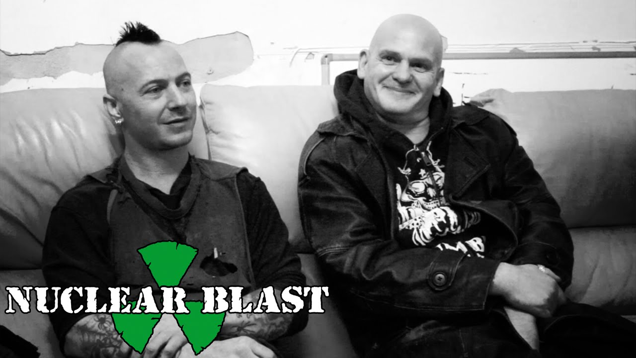 DISCHARGE - JJ and Bones on signing to Nuclear Blast (OFFICIAL INTERVIEW)