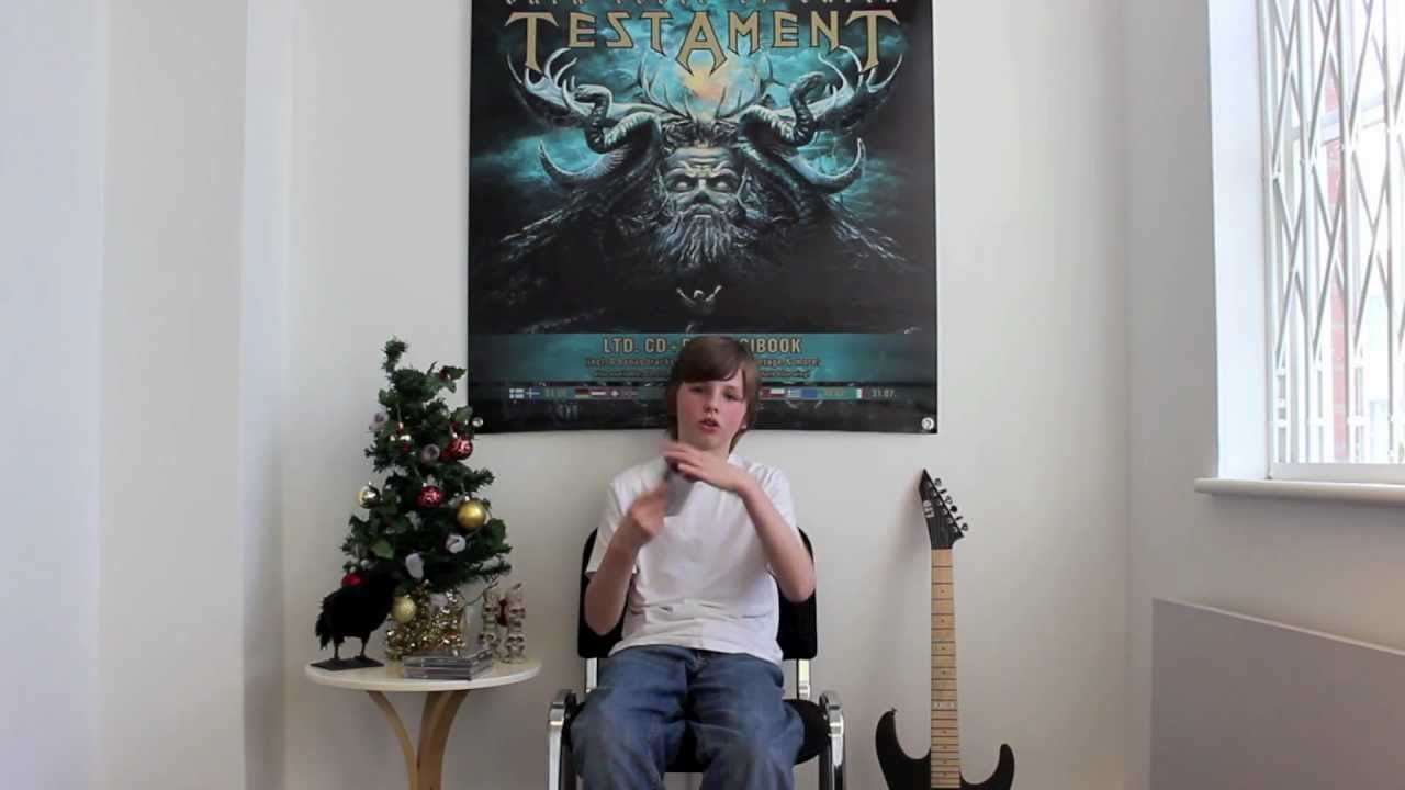 Elliot Paisley (EQPTV) - Top 5 Nuclear Blast Albums 2012 (OFFICIAL INTERVIEW)