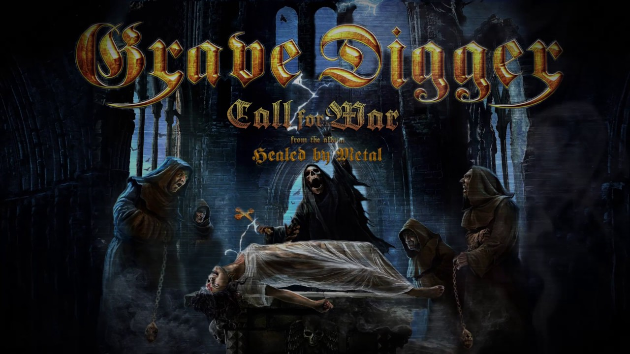 GRAVE DIGGER - Call For War (Official Lyric Video) Napalm Records