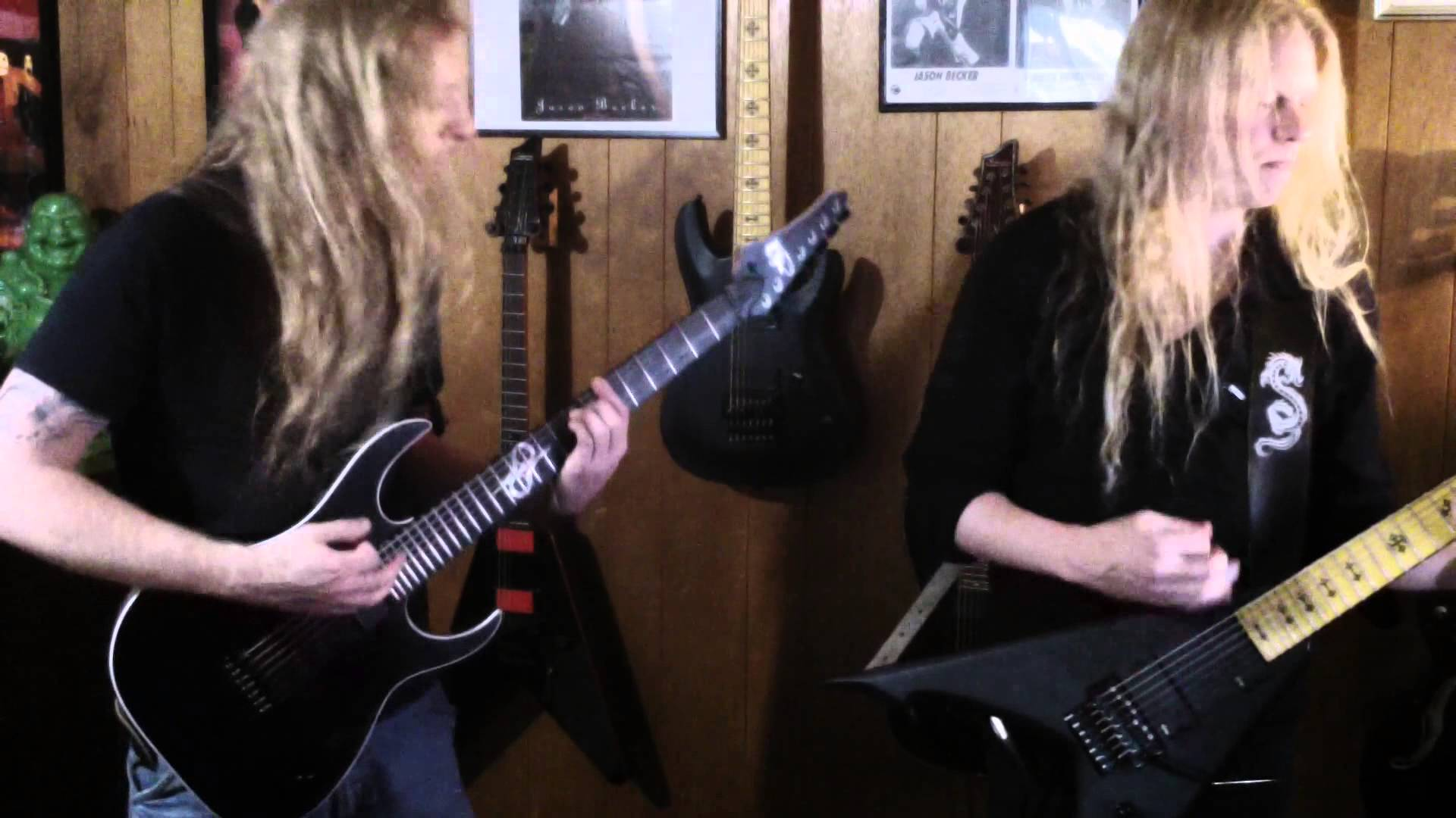 Jeff Loomis and Joe Nurre playing the song 'Surrender'