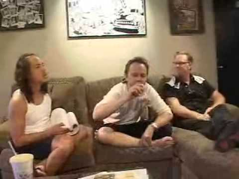 Metallica - Jump in the Studio Q&A Part 1 (September 12, 2002)