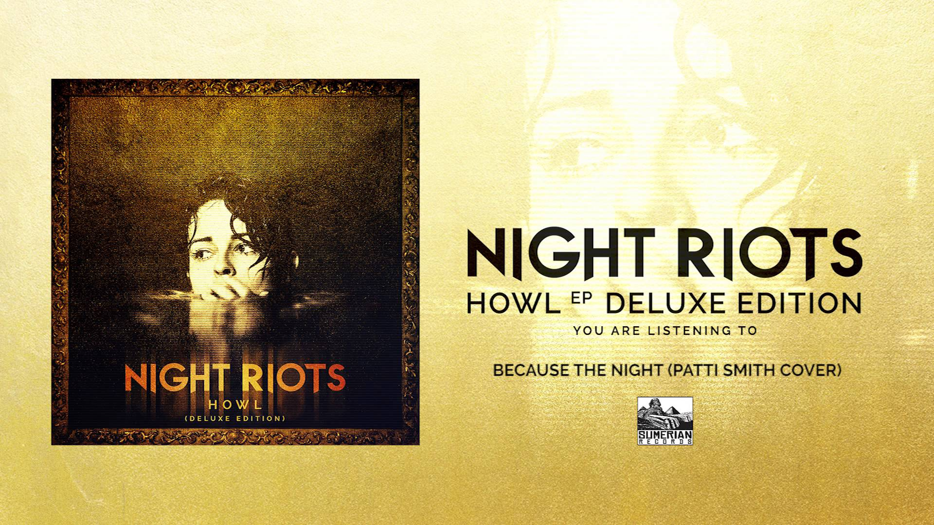 NIGHT RIOTS - Because The Night (Patti Smith Cover)