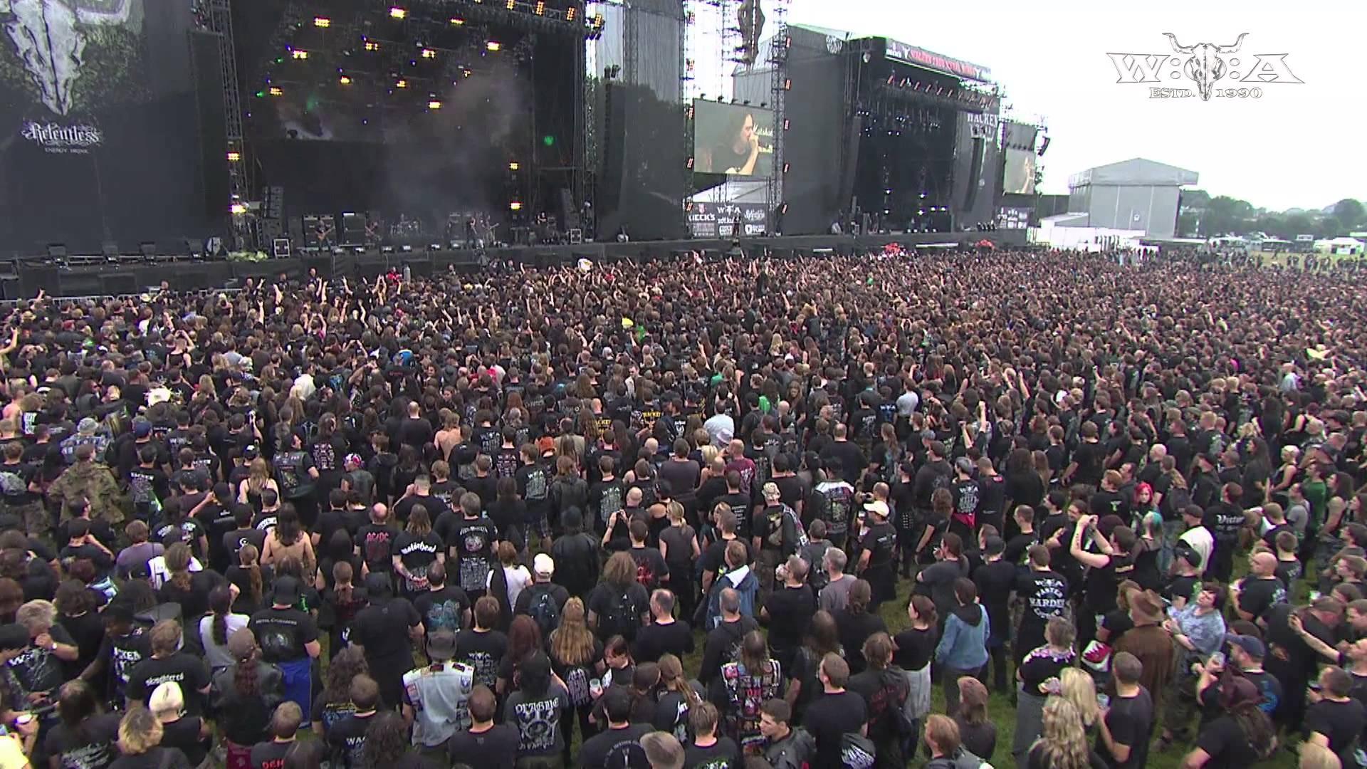 Skyline ft. Chris Boltendahl & Tom Angelripper - 2 Songs - live at Wacken Open Air 2011