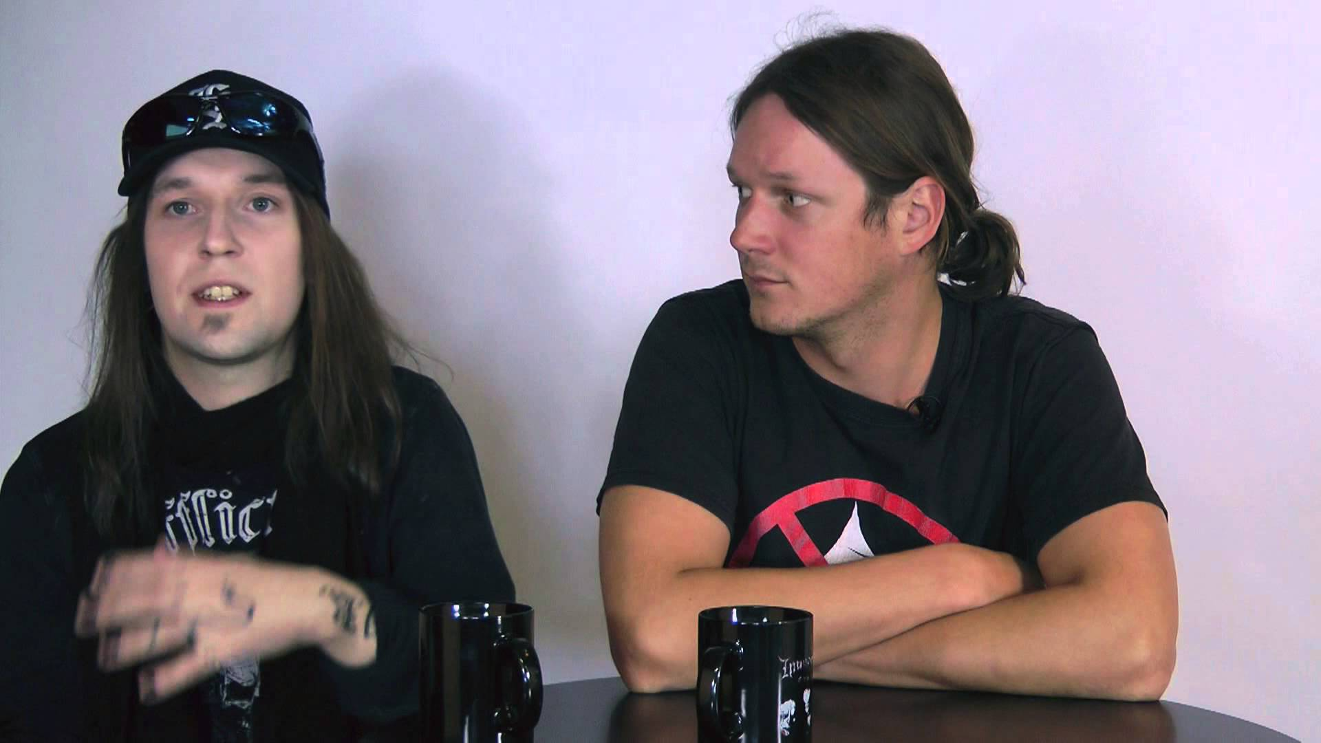 CHILDREN OF BODOM - Halo Of Blood (OFFICIAL TRACK BY TRACK PT 1)