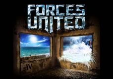FORCES UNITED 'Only Time' (2015) feat. Arthur Berkut (Aria), Nookie (SLOT), Eugene Egorov (Epidemia)