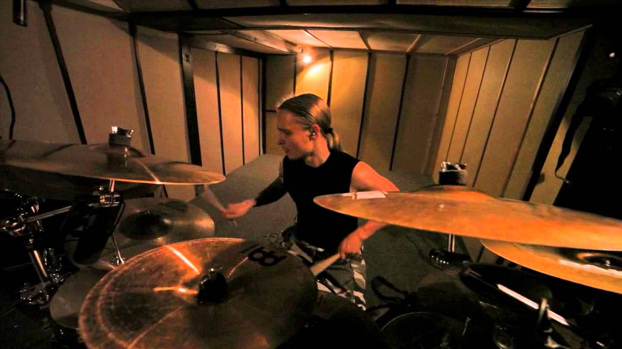 Gloria Morti 'Lex Parsimoniae' studio drum performance