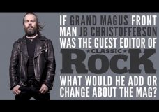 GRAND MAGUS — If JB was the guest editor of Classic Rock, what would he add or change
