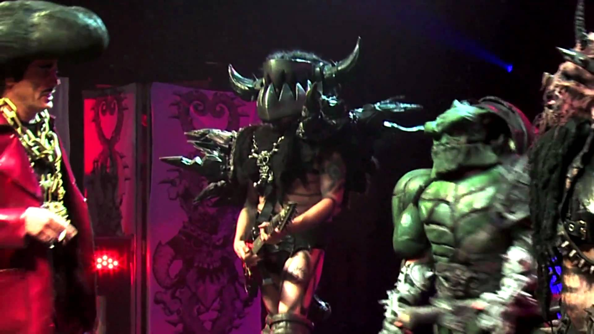 GWAR 'Zombies, March' (OFFICIAL VIDEO)