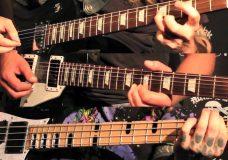 Gypsyhawk 'Hedgeking' guitar & bass demonstration