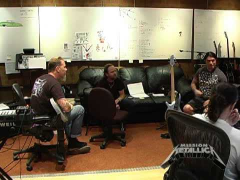 Mission Metallica Fly on the Wall Platinum Clip (July 26, 2008)
