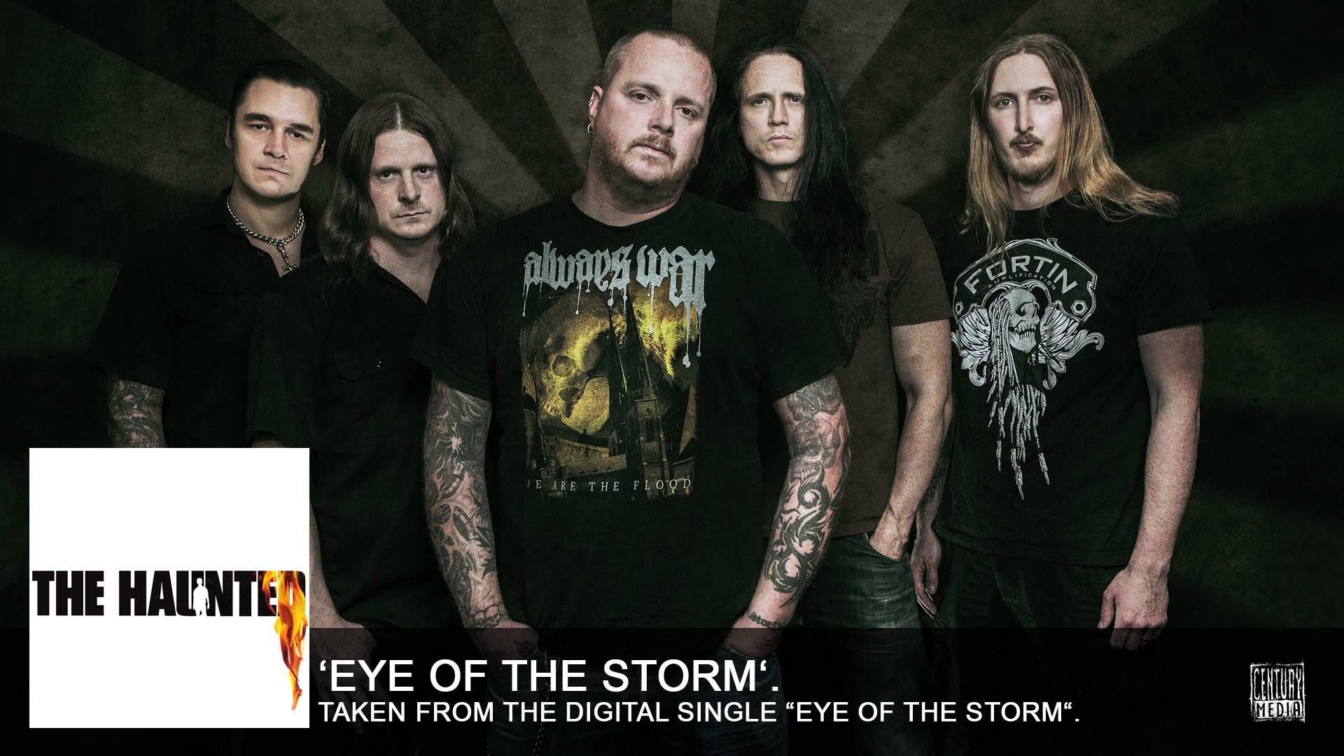 THE HAUNTED - Eye Of The Storm (NEW SINGLE)