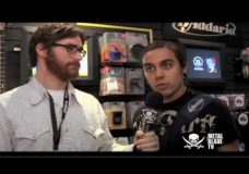 The Red Chord's Greg Weeks talks to celebrities at NAMM 2010
