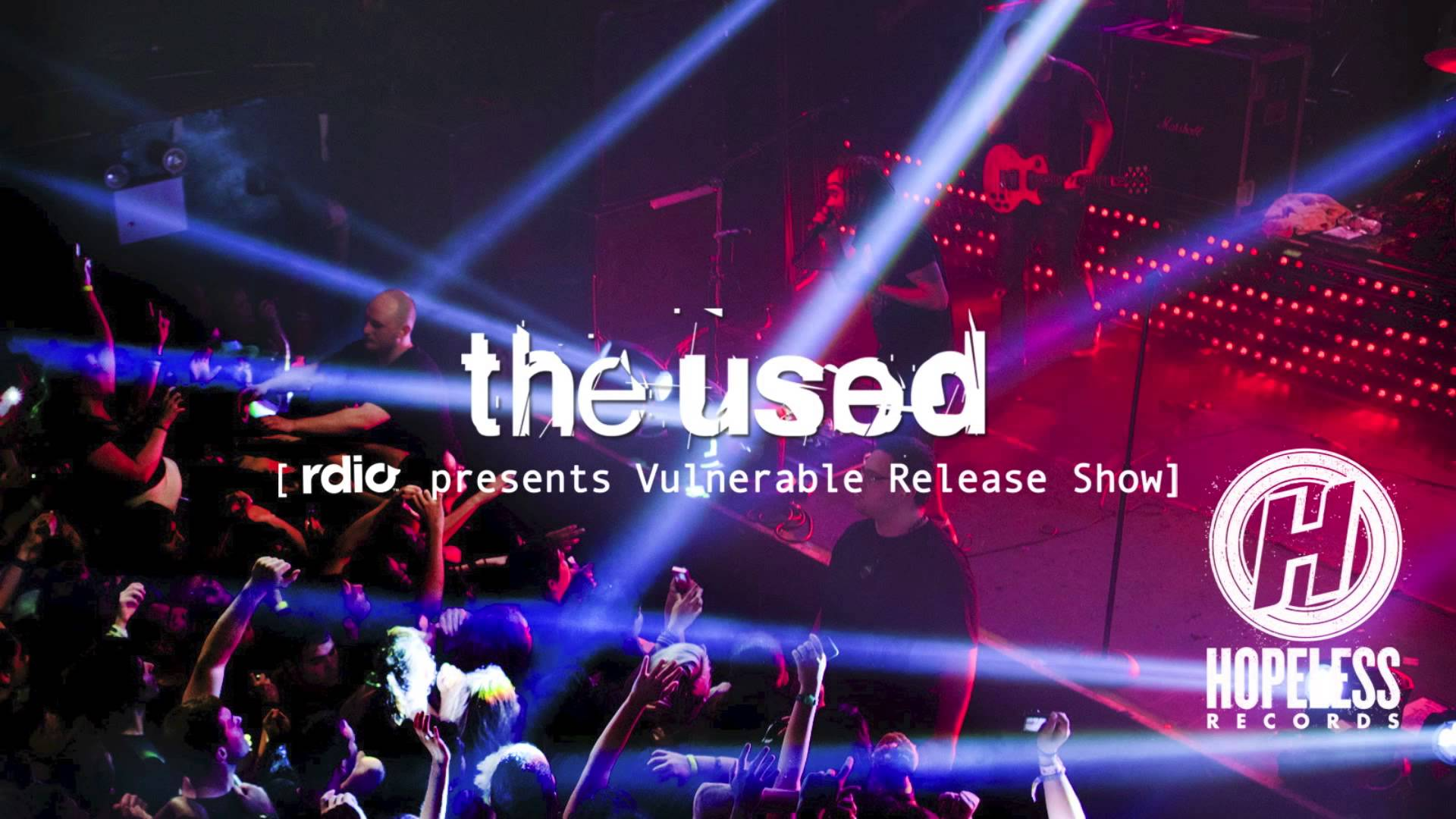 The Used - Shine (Live from Rdio Presents Vulnerable Release Show)