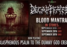 DECAPITATED — The Blasphemous Psalm To The Dummy God Creation (OFFICIAL TRACK)