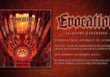 EVOCATION — Illusions Of Grandeur (OFFICIAL ALBUM TRACK)