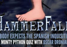 HAMMERFALL — Oscar Dronjak in 'Nobody Expects The Spanish Inquisition'