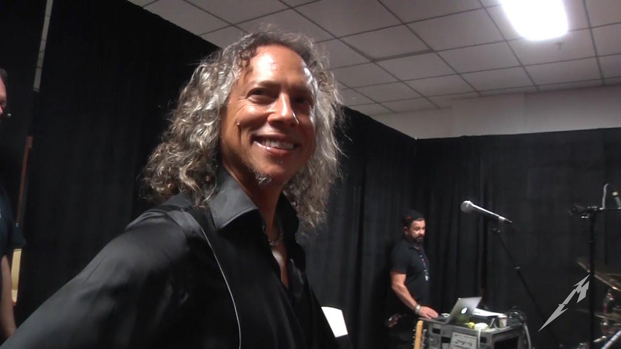Metallica Tuning Room (MetOnTour - San Jos, Costa Rica - 2016)