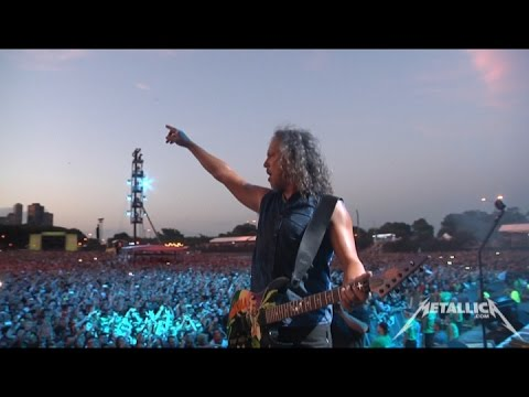 Metallica Wherever I May Roam and Am I Evil (MetOnTour - Chicago, IL - Lollapalooza - 2015)