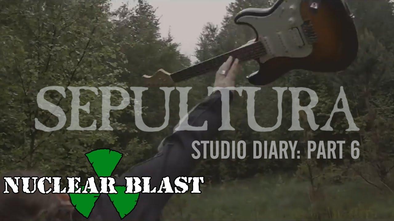 SEPULTURA - Machine Messiah Studio Diary 6 - Guitars (OFFICIAL STUDIO TRAILER)